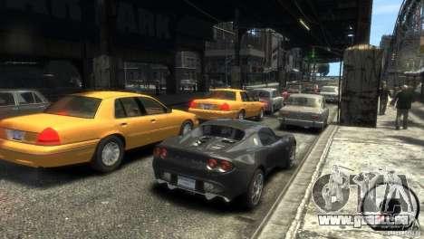 Lotus Elise v2.0 pour GTA 4 est un droit
