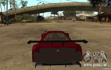 Seat Cupra GT pour GTA San Andreas sur la vue arrière gauche