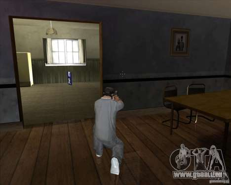 Pistole mit Schalldämpfer für GTA San Andreas dritten Screenshot