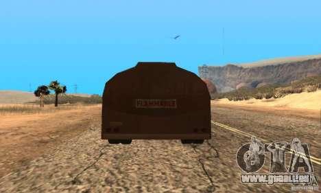 Anhänger Duell Peterbilt für GTA San Andreas linke Ansicht
