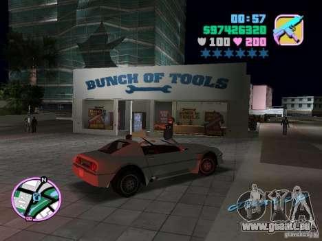 Phobos VT de Gta Liberty City Stories pour GTA Vice City vue arrière