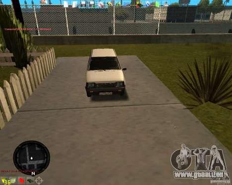 VAZ 11113 OKA pour GTA San Andreas laissé vue