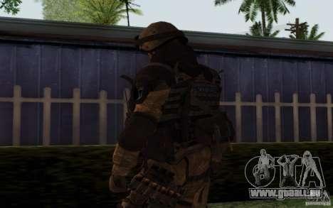 Šturomvik de Warface pour GTA San Andreas troisième écran