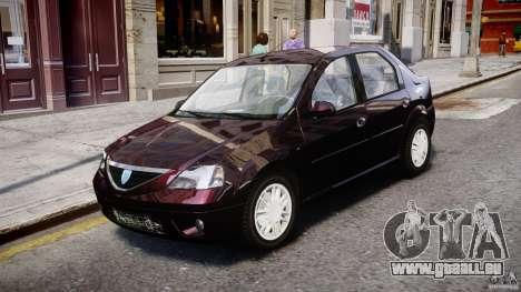 Dacia Logan 2007 Prestige 1.6 für GTA 4 linke Ansicht