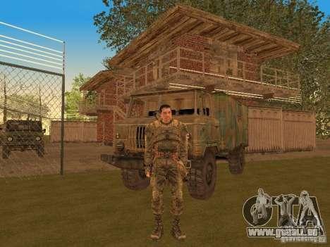 Degtyarev de Stalker pour GTA San Andreas troisième écran
