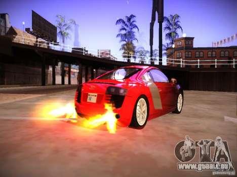 Effets du tuyau d'échappement pour GTA San Andreas