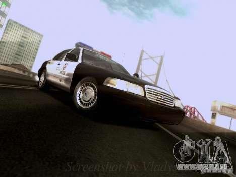 Ford Crown Victoria Los Angeles Police für GTA San Andreas