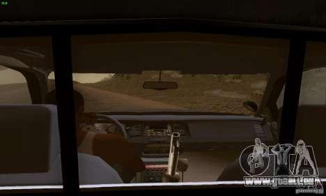 Ford Crown Victoria Kentucky Police für GTA San Andreas zurück linke Ansicht