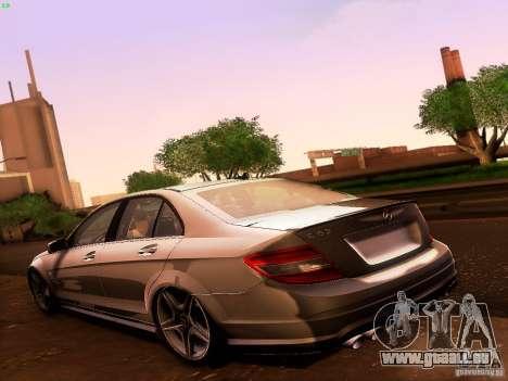 Mercedes-Benz C36 AMG für GTA San Andreas Seitenansicht