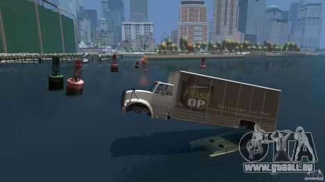 Benson boat für GTA 4 linke Ansicht