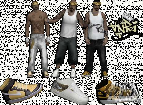 Skins Pack By AnRi für GTA San Andreas zweiten Screenshot
