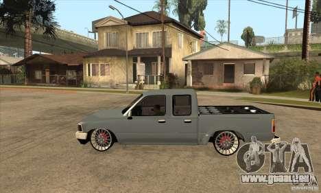 Toyota Hilux 1990 pour GTA San Andreas laissé vue