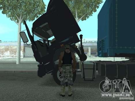 Aktives Dashboard 3.0 für GTA San Andreas dritten Screenshot