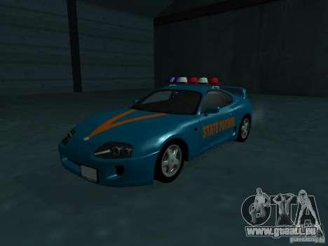 Toyota Supra California State Patrol pour GTA San Andreas