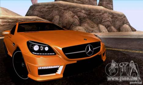 SA_nGine v1. 0 für GTA San Andreas her Screenshot