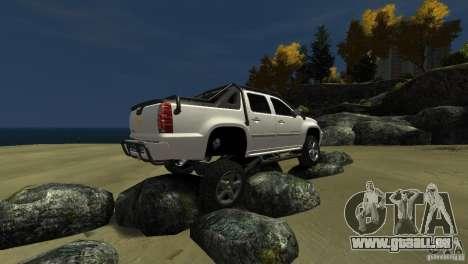 Chevrolet Avalanche 4x4 Truck pour GTA 4 est un côté