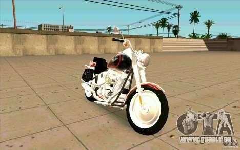 Harley Davidson FatBoy (Terminator 2) pour GTA San Andreas
