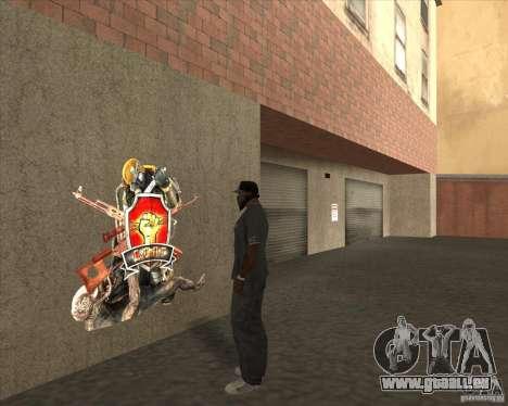 Graffiti stalkers für GTA San Andreas zweiten Screenshot