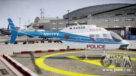 Bell 206 B - Chicago Police Helicopter für GTA 4 Innenansicht