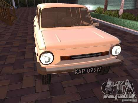 ZAZ 968 m Limousine für GTA San Andreas linke Ansicht