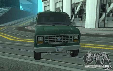 Ford E-150 Short Version v3 pour GTA San Andreas vue de côté