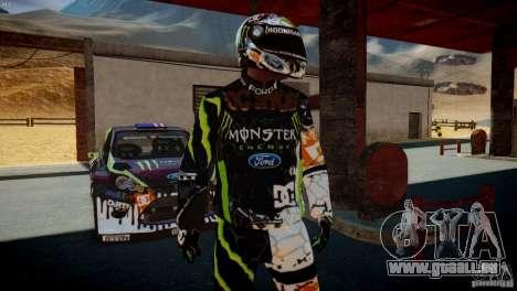 Ken Block Gymkhana 5 Clothes (Unofficial DC) für GTA 4 Sekunden Bildschirm