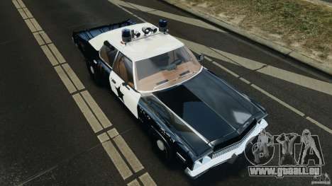 Dodge Monaco 1974 Police v1.0 [ELS] für GTA 4 obere Ansicht