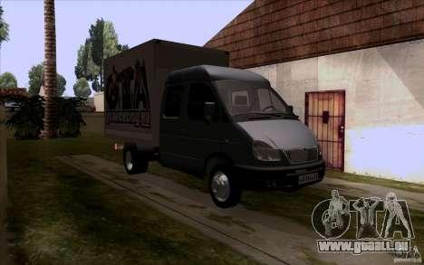 Gazelle 33023 für GTA San Andreas