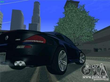 BMW M6 2010 Coupe für GTA San Andreas rechten Ansicht