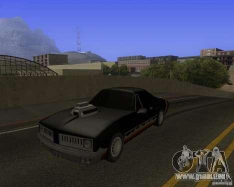 HD Diablo für GTA San Andreas Rückansicht