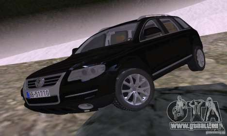 Volkswagen Touareg pour GTA San Andreas vue de droite