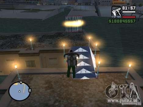 Night moto track pour GTA San Andreas quatrième écran