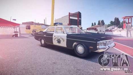 AMC Matador CHP [ELS] für GTA 4 Innen
