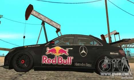 Mercedes-Benz E63 AMG DTM 2011 für GTA San Andreas Rückansicht