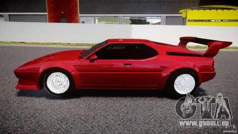 BMW M1 [Beta] für GTA 4 linke Ansicht