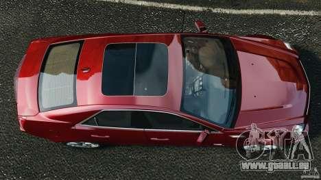 Cadillac CTS-V 2009 pour GTA 4 est un droit