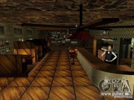 Nouvelle barre de textures UFO pour GTA San Andreas sixième écran