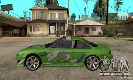 Nissan Silvia S14a JardinE Drift pour GTA San Andreas laissé vue