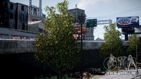 Realistic trees 1.2 für GTA 4 Sekunden Bildschirm