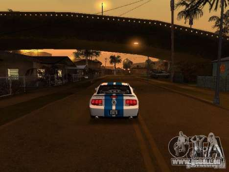 Ford Mustang GT pour GTA San Andreas vue de côté