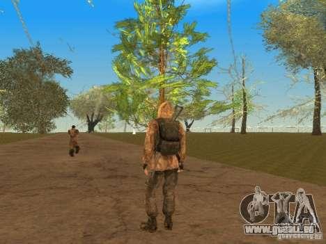 Haut-Narbe von einem stalker für GTA San Andreas sechsten Screenshot