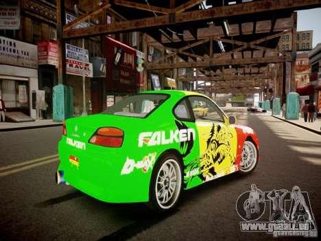 Nissan Silvia S15 Boso Drift Formula D M-Design pour GTA 4 est un droit