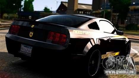 Ford Mustang (Shelby Terlingua) v1.0 pour GTA 4 est une gauche