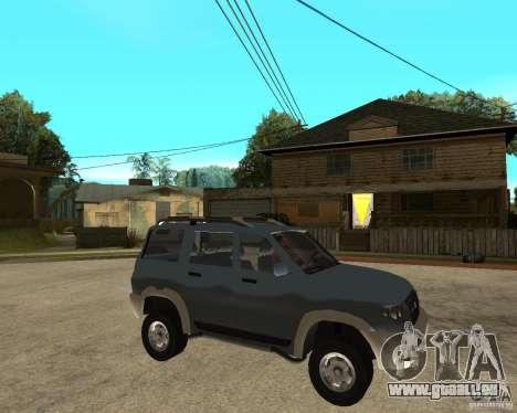 UAZ Patriot 4x4 pour GTA San Andreas vue de droite