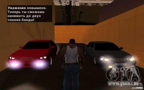 LADA PRIORA van tuning pour GTA San Andreas vue de côté