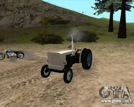 Tracteur pour GTA San Andreas vue de droite