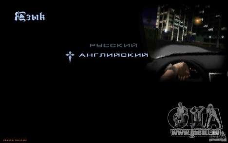 Le menu de la Nogaystan jeu de GTA pour GTA San Andreas septième écran