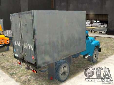 ZIL 431410-130 endg. für GTA 4 hinten links Ansicht