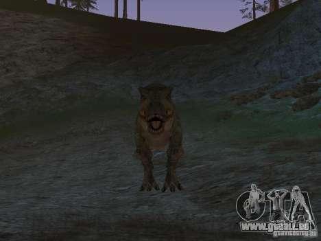 Dinosaurs Attack mod für GTA San Andreas sechsten Screenshot