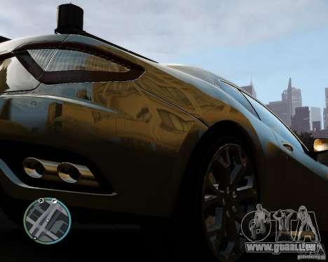 Maserati Grandturismo pour GTA 4 Vue arrière